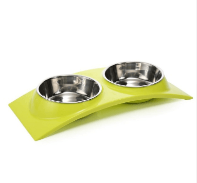 2 in 1 Dog Bowls Pet Bowls For Water & Food Storage - Pet Products/Dog Supplies