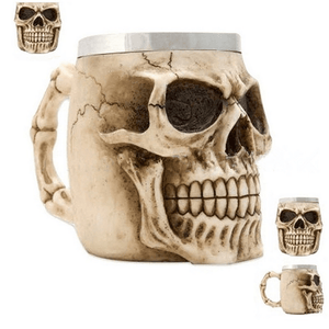 Amazing 3D Skull Coffee Mug