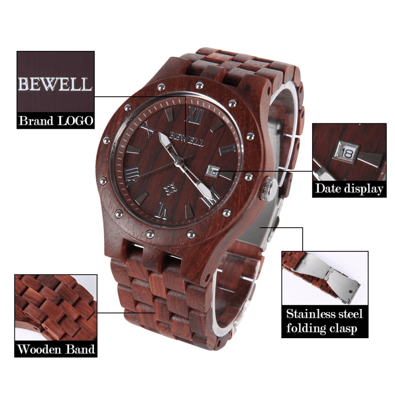 Luminous Wood Watches - Jewelry & Watches / Men's Watches / Quartz Watches
