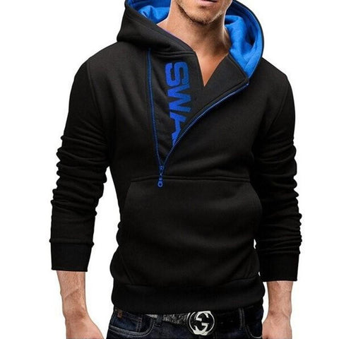 Image of SWAG Zipper Hoodie - Men's Clothing / Outerwear & Jackets / Hoodies & Sweatshirts