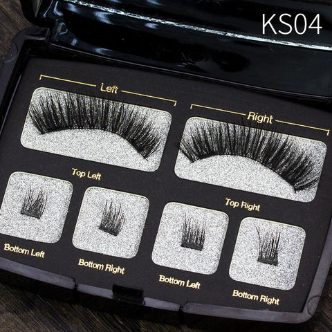 Image of Four Small Scorpion Magnetic Eyelashes - Health & Beauty, Hair / Makeup / Makeup Set