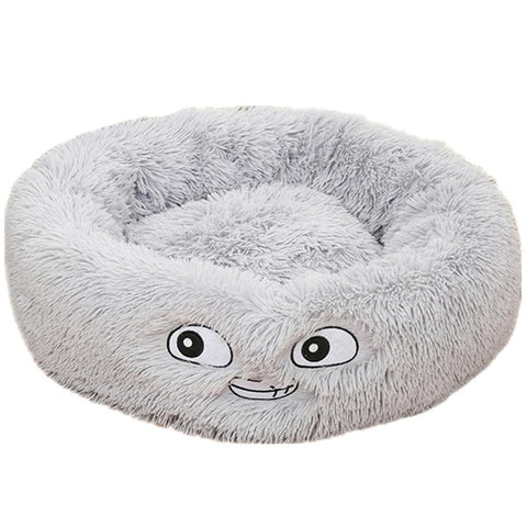 Marshmallow Cat Bed | Deluxe Plush Pet Bed - Pet Products/Dog Supplies