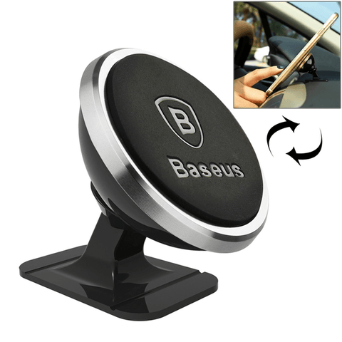 Image of Magnetic Car Phone Holder For iPhone 360 Rotation - Phones & Accessories / Mobile Phone Accessories / Holders & Stands