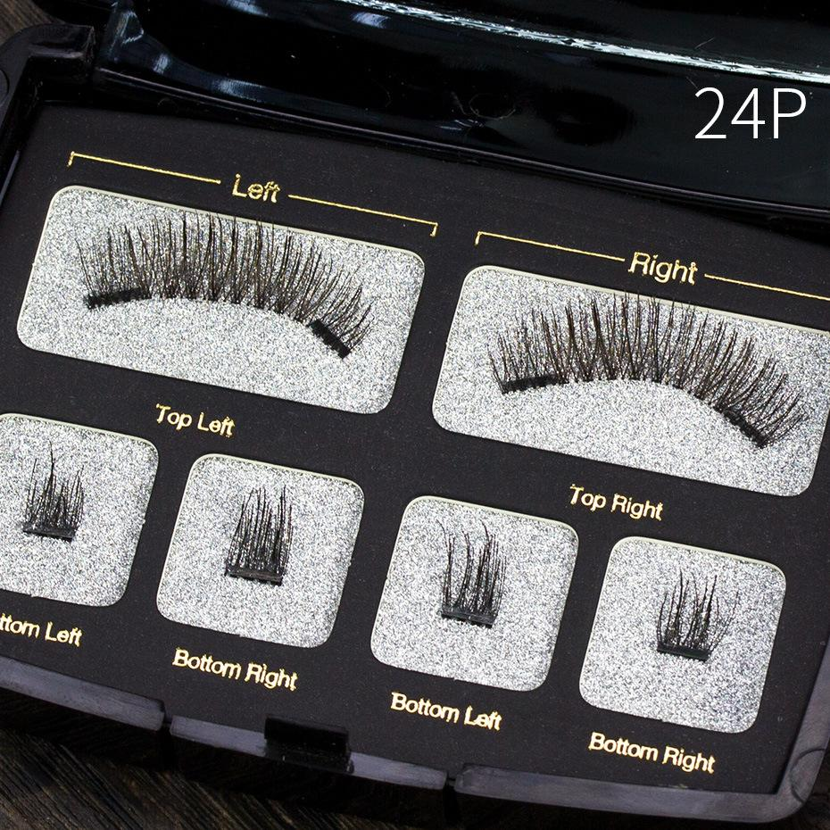 Four Small Scorpion Magnetic Eyelashes - Health & Beauty, Hair / Makeup / Makeup Set