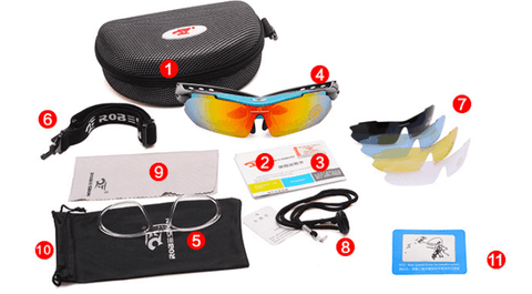 Image of Outdoor Polarized Sports Sunglasses - Sports & Outdoors / Cycling / Cycling Eyewear