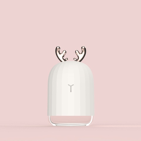 Image of Mini Desktop Fog Humidifier With USB And Deer Antlers - Consumer Electronics / Smart Electronics / Smart Home Appliances