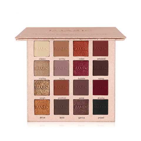 Image of 16 Color Eyeshadow Palette Make Up Set Box Kit - Eye Shadow