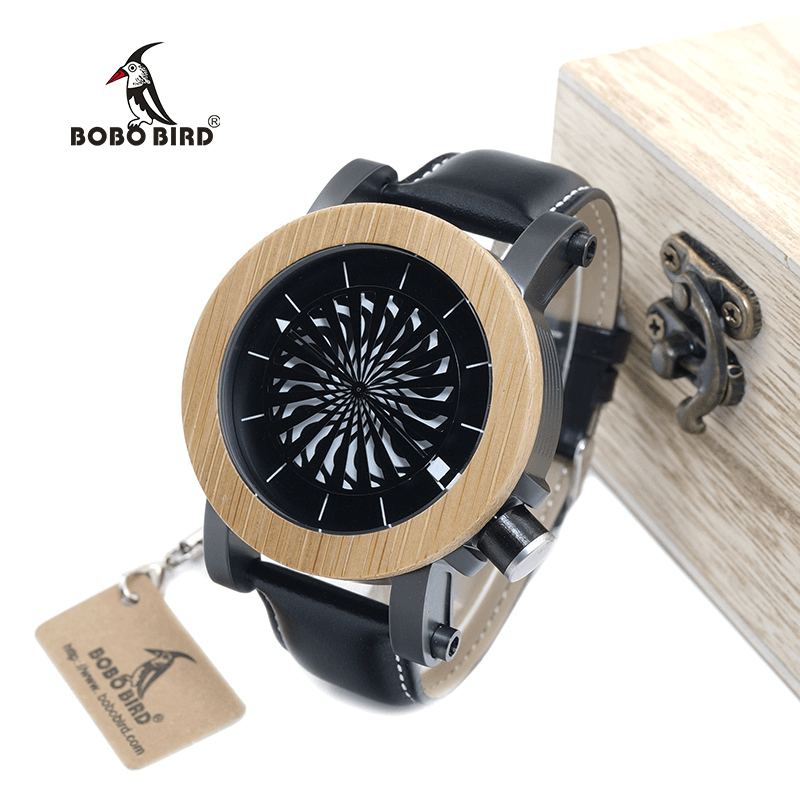 Wooden Watches Mechanical Watches For Men - Jewelry & Watches / Men's Watches / Quartz Watches