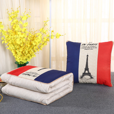 Image of 2-in-1 Leisure Office Travel Magic Pillow Blanket - Travel Kits
