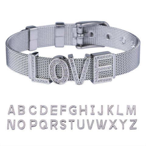Image of Custom Letter Bracelet - Jewelry & Watches/Fashion Jewelry/Bracelets & Bangles