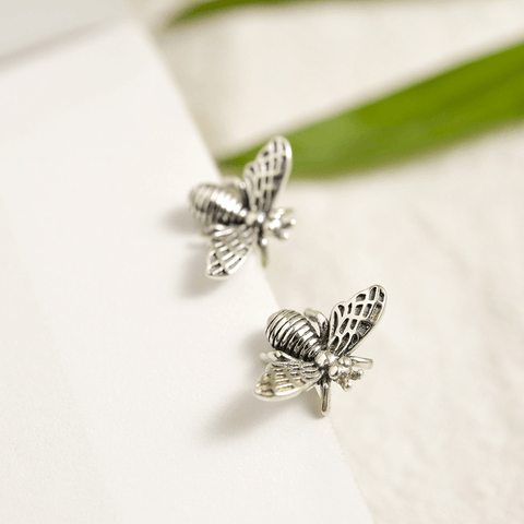 Bee Earrings Sterling Silver - Jewelry & Watches / Fine Jewelry / 925 Silver Jewelry