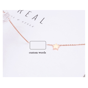 Custom Anklet Custom Name Anklet S925 Sliver