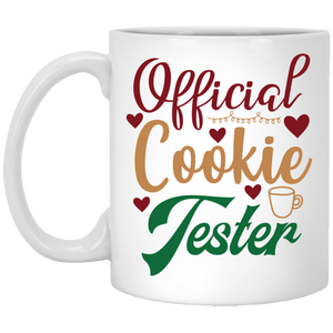 Official Cookie Tester White Mug 11 oz.