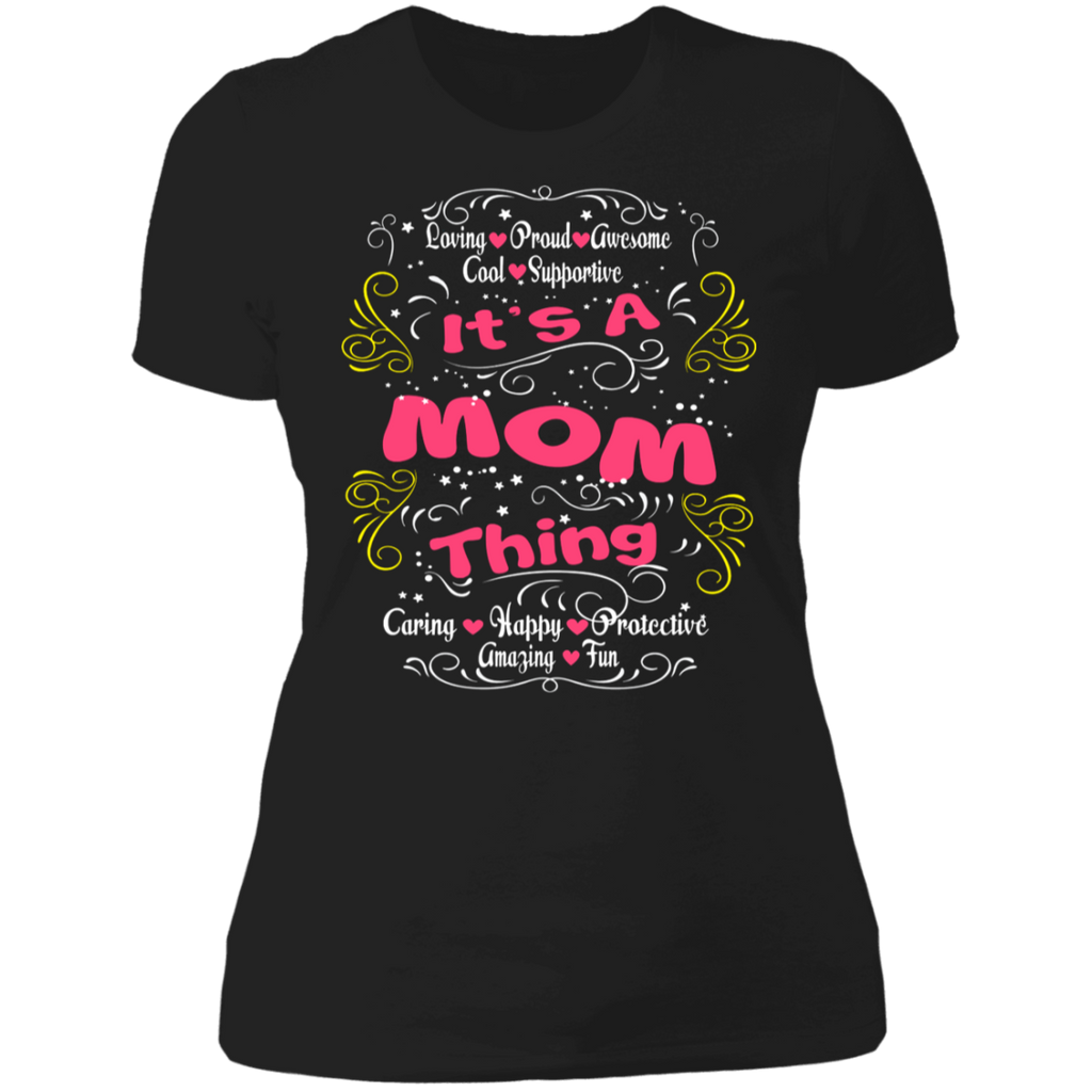 "To My Mother - ""It's A Mom Thing"" Ladies' Cotton T-Shirt"