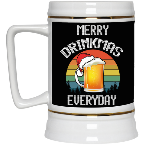 Merry Drinkmas Everyday Beer Stein 22oz.
