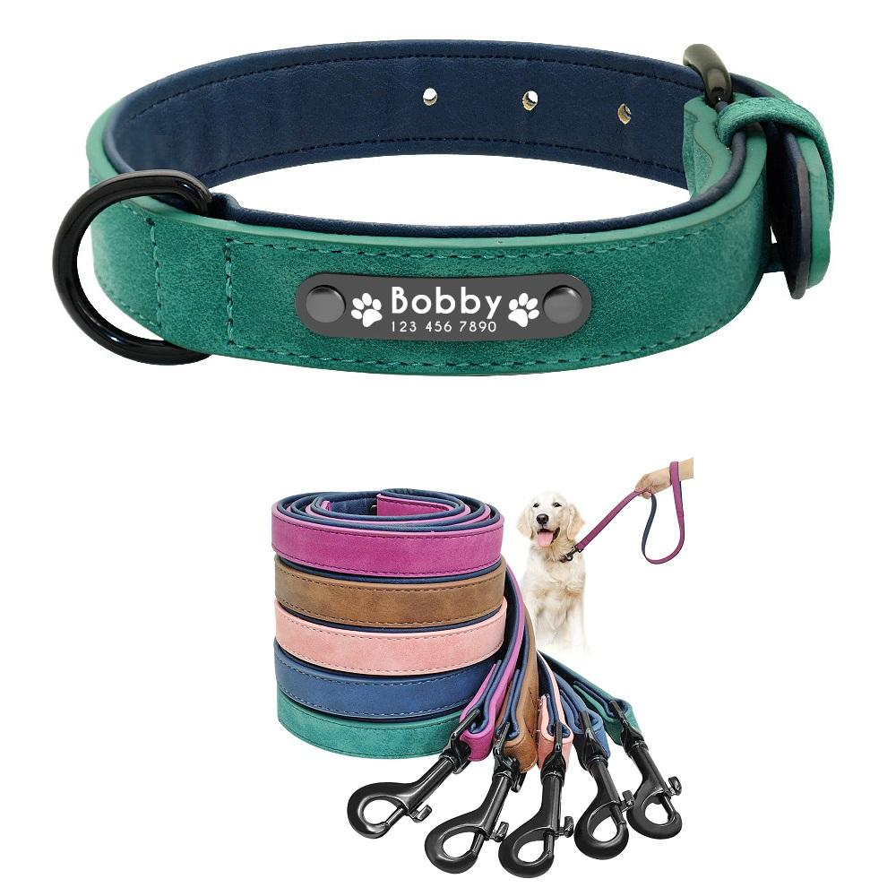 Personalized Custom Dog Collar| Eco-Friendly Pet ID Tag| Dog Identity Tag With Leash