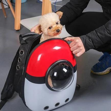 Image of Pet Cat Dog Backpack Carrier Breathable Astronaut Travel Bag - Home & Garden, Furniture / Pet Products / Cat Supplies