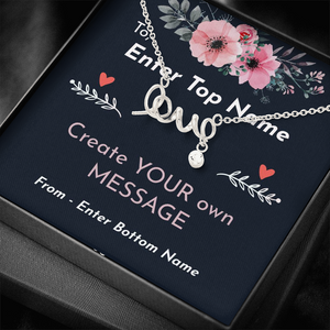 SCRIPTED LOVE™ NECKLACE
