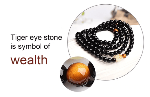 Black Charm Buddha Beads Bracelets Glowing Luminous Bracelets For Men And Women - Jewelry & Watches / Fashion Jewelry / Bracelets & Bangles