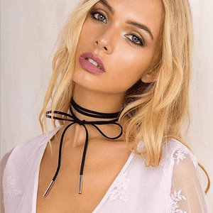 Choker Necklace Long Versatile Clavicle Chain