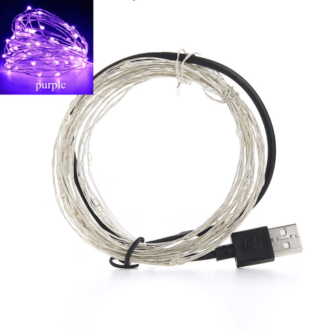 Fairy Lights String Lights For Indoors Outdoors Christmas Decoration (3 Types: USB, AA Ba
