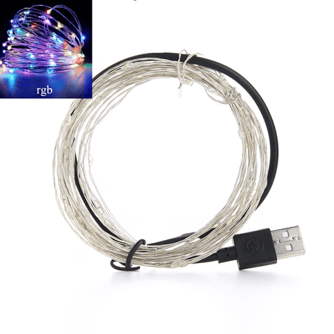Fairy Lights String Lights For Indoors Outdoors Christmas Decoration (3 Types: USB, AA Battery and CR20