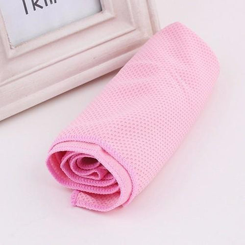 Image of Microfiber Towel Rapid Cooling Fitness Towel - Home & Garden, Furniture / Home Textiles / Towels