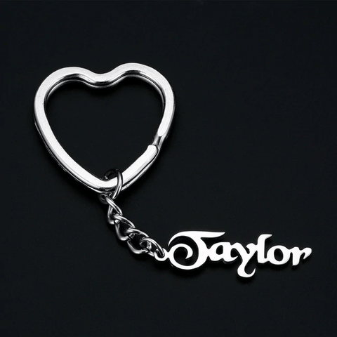 Image of Personalized Custom Name Engraved Keychain - Key Chains