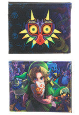 Zelda Majora's Mask Canvas Wallet