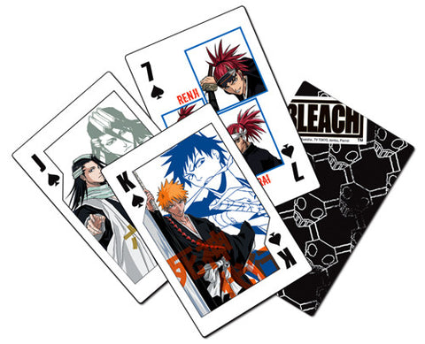 Bleach Shinigami Playing Cards