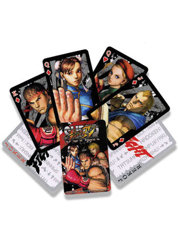 Super Street Fighter Playing Cards