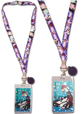 Black Butler Celebrate Lanyard