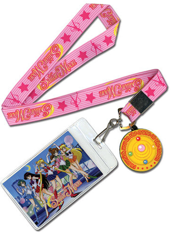 Sailor Moon Brooch Lanyard