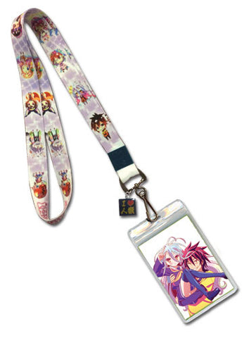 No Game No Life Line Up Lanyard
