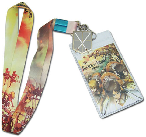 Attack On Titan To Battle Lanyard