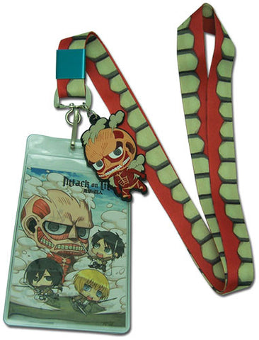 Attack On Titan Teeth Strap Lanyard