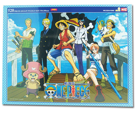 One Piece Blue Frame Group 520 Pcs Jigsaw Puzzle