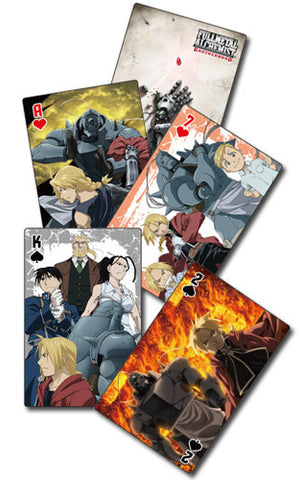 Full Metal Alchemist Brotherhood Group Playing Cards