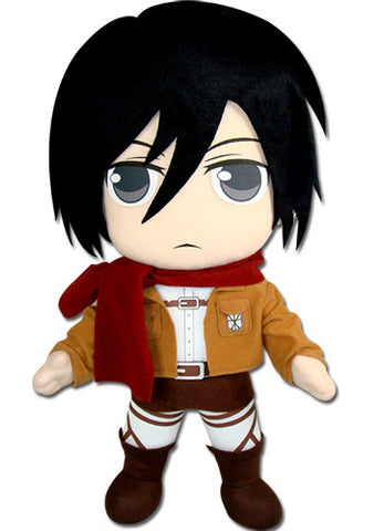"Attack On Titan Mikasa 18"" Plush"