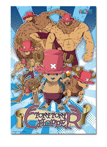 One Piece Chopper Point Forms 1000 Pcs Jigsaw Puzzle