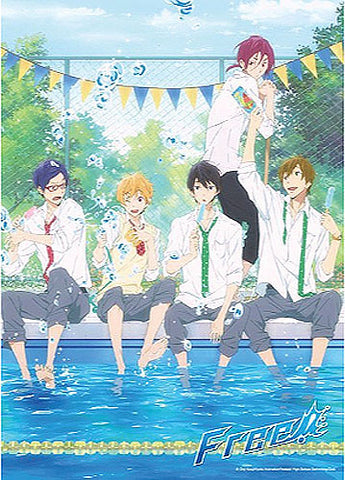 Free! Boys Cooling Off 300 Pcs Jigsaw Puzzle