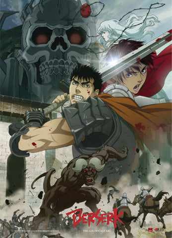 Berserk Battle Scene Wall Scroll 60660