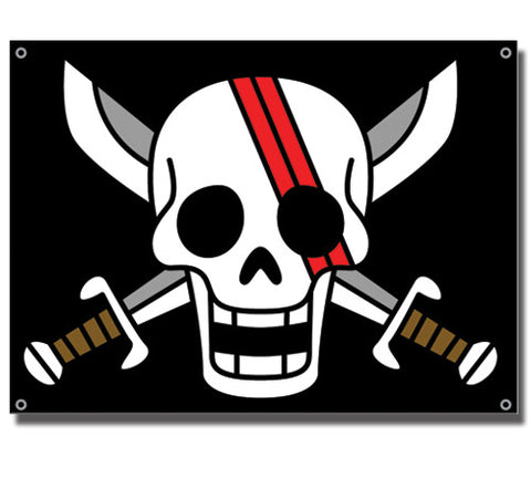 One Piece Shank's Flag