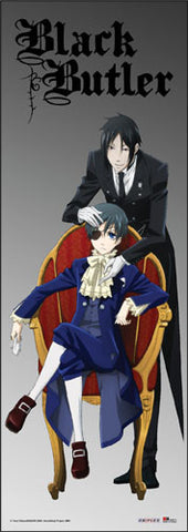 Black Butler Sebastian and Ciel Door Scroll 86371
