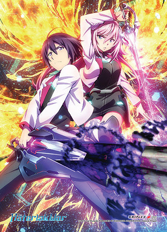 Asterisk Wars Group Wall Scroll 86554