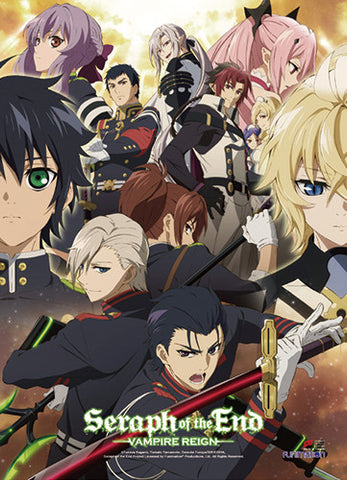 Seraph of the End Group Wall Scroll 86603