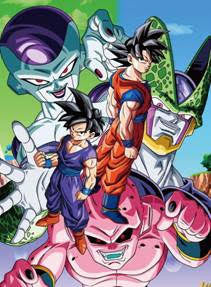 Dragon Ball Z Wall Scroll L109