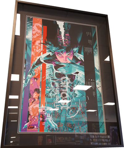 Ghost In The Shell Framed Limited Edition Screen Print