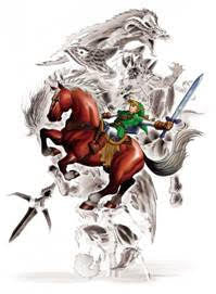 Legend Of Zelda Wall Scroll P013
