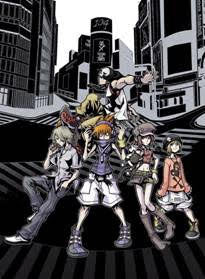 The World Ends With You Wall Scroll L107